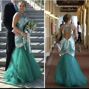 Rachel Allan Mermaid dress